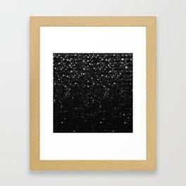 Crystal Bling Strass G283 Framed Art Print