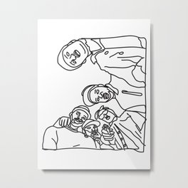 ASAP Mob Metal Print