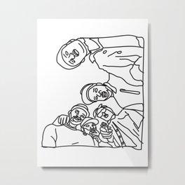 MOB Metal Print