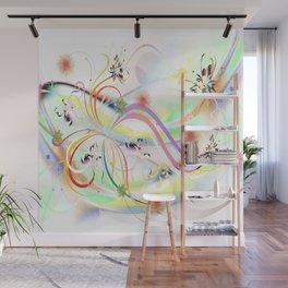 Abstrakt - Frühling 1 Wall Mural