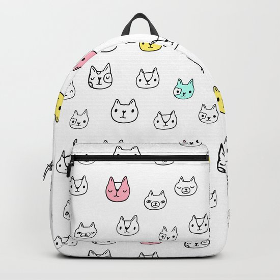 Sketchy Cats Backpack