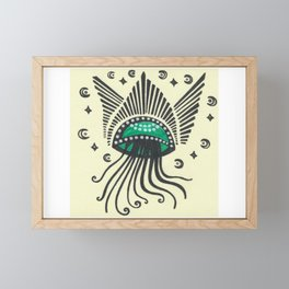 Angel Jellyfish #25 Framed Mini Art Print