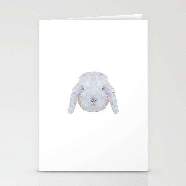 Bunny Portrait Stationery Cards