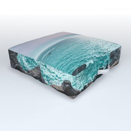 Turquoise Cove Outdoor Floor Cushion