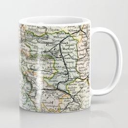 Austria Vintage Map Coffee Mug