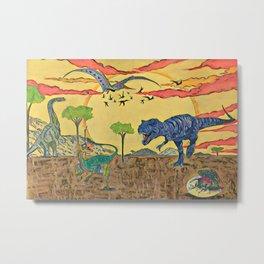 Prehistoric Metal Print