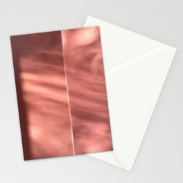Bloomartgallery_Marrakech pink terracotta wall and shadows Stationery Cards