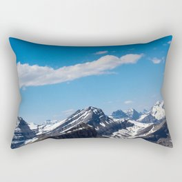 Dreamy Mountain Tops Rectangular Pillow