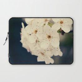 Bradford Pear Tree Flowers Laptop Sleeve
