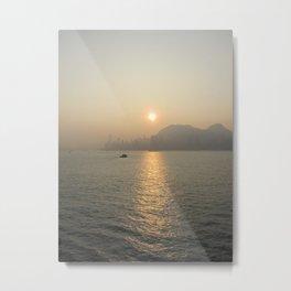 Hong Kong Ocean View Metal Print