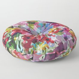 Hummingbird Haven Floor Pillow