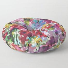 Hummingbird Haven Floor Pillow