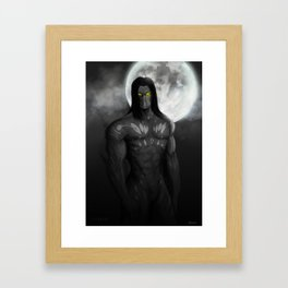 """The Darkness"" Framed Art Print"