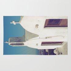 Santorini Churches II Rug