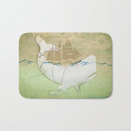 The ghost of Captain Ahab, Moby Dick Bath Mat