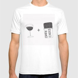 Wine and Chocolate T-shirt