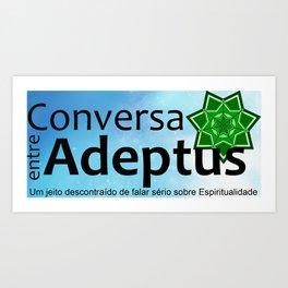 Conversa entre Adeptus Art Print