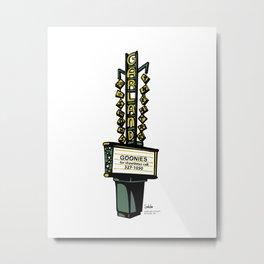 The Garland Theater, Spokane, WA Metal Print
