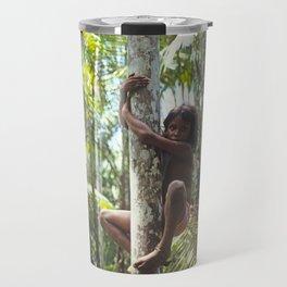 Climbing Trees Travel Mug