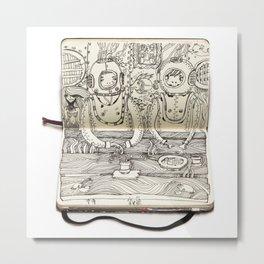 The Last Supper (Divers) Metal Print
