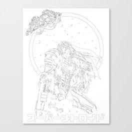 Interstellar Bounty Hunter Canvas Print