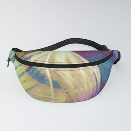 Feather Abstract Fanny Pack