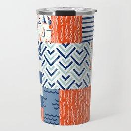 Beautiful Patch 9 (Nautical) Travel Mug