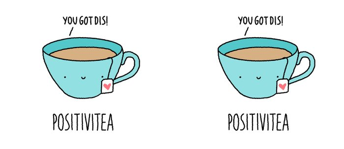 Positivitea Coffee Mug