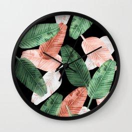 Tropical muse Wall Clock
