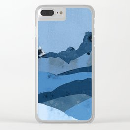 Mountain X Clear iPhone Case