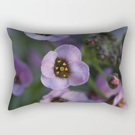 Lavender Alyssum Rectangular Pillow