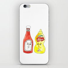 Condiment Friendship iPhone & iPod Skin