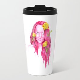 Roses | Endometriosis awareness Travel Mug