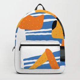Backhoe Cartoon Backpack