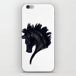 Black Horse iPhone Skin