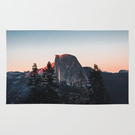 Last Light at Yosemite National Park Rug