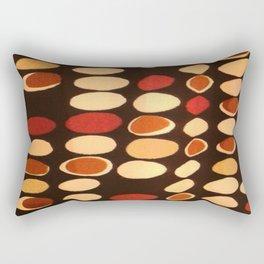 Irregular circles - ethnic theme Rectangular Pillow