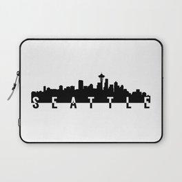 seattle city skyline Laptop Sleeve