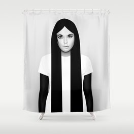 'K' Shower Curtain