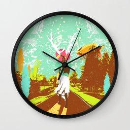 UNDERWATER DREAM Wall Clock