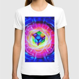 Abstract perfection - Cube T-shirt