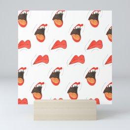 Lips Mini Art Print