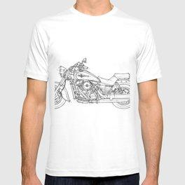 KAWASAKI VULCAN 1600 CLASSIC 2006, Christmas gift!!! T-shirt