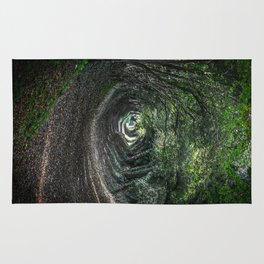 Tunnel of Trees Rug