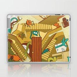 Monsters on Stairs Laptop & iPad Skin