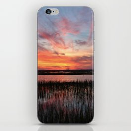 Sunset And Reflections 2 iPhone Skin
