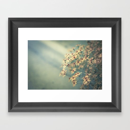 In the morning, I'll call you Framed Art Print