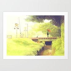 AOSHIGURE Art Print