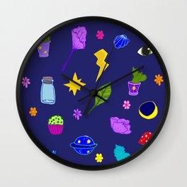 Midnight Flash Sheet Wall Clock