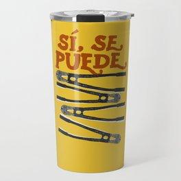 Sí se puede Travel Mug
